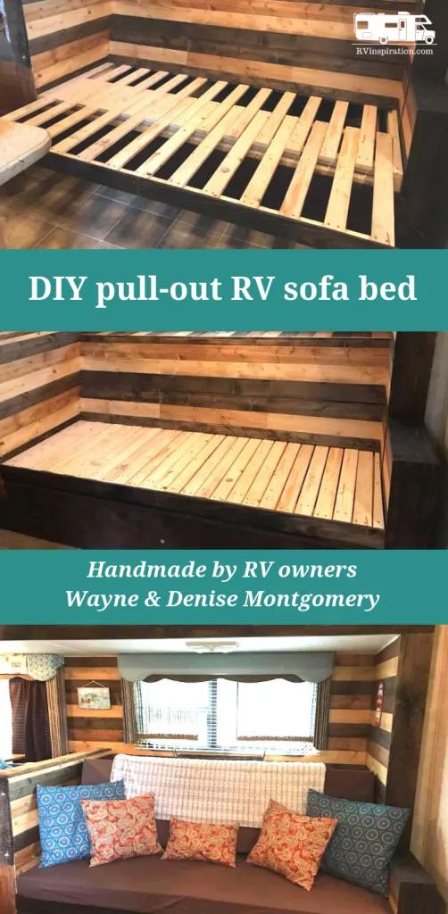 Diy Sofa Inspiration For Your Rv Diy Sofa Rv Sofa Bed Diy Rv