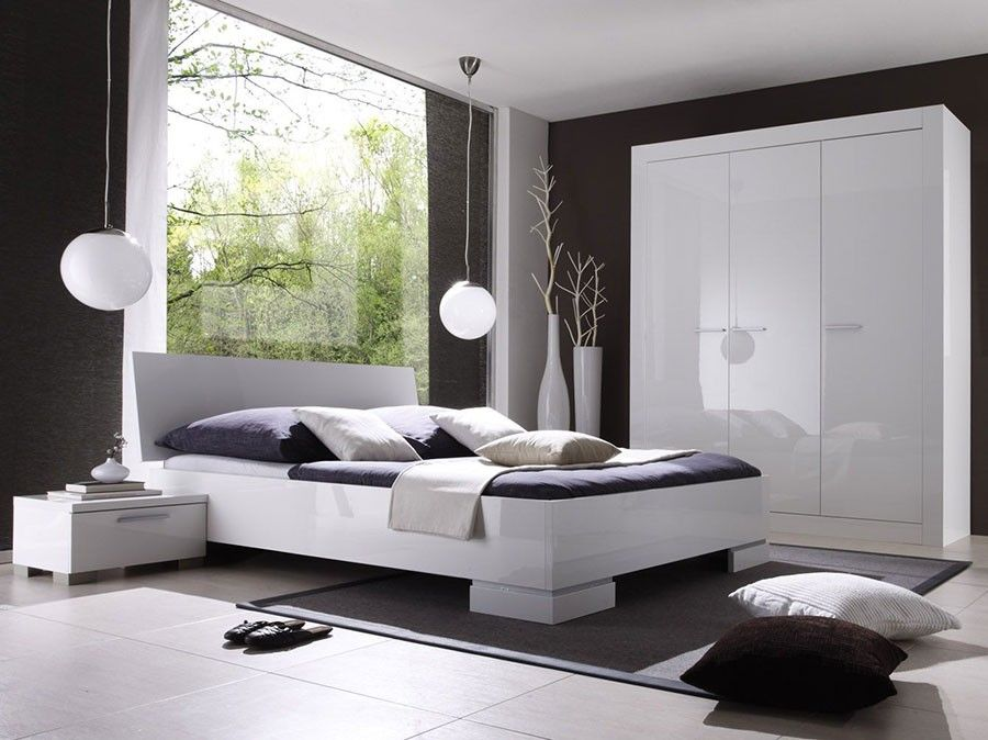 chambre adulte compl te blanc laqu design bellissima hcommehome chambre adulte design ou. Black Bedroom Furniture Sets. Home Design Ideas