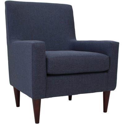 Emma Navy Blue Arm Chair In 2020 Furniture Armchair
