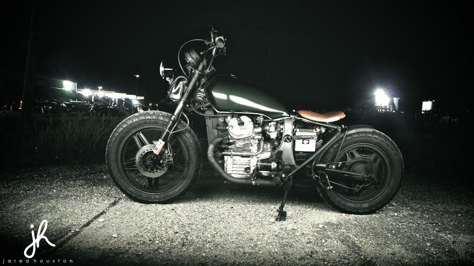 Ft Custom 1982 Honda Gl500 Bobber Motorcycle Bobber Motorcycle Honda Motorcycle