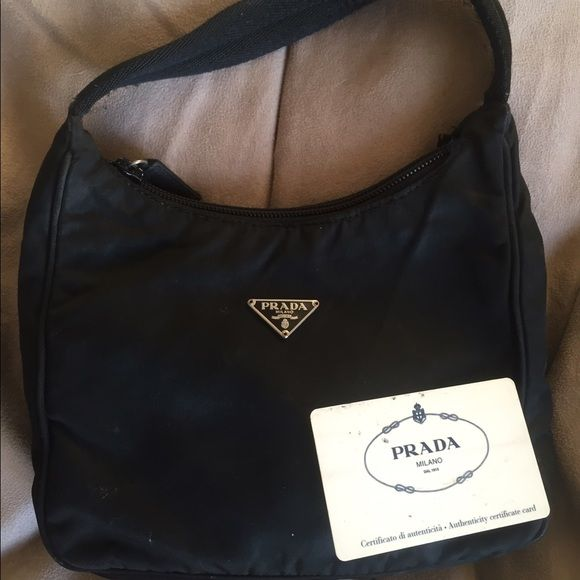 a793b5a0800b Prada Tessuto Sport bag They say you never forget your first... Prada that  is! Sad to say goodbye but I tend to wear bigger bags now.