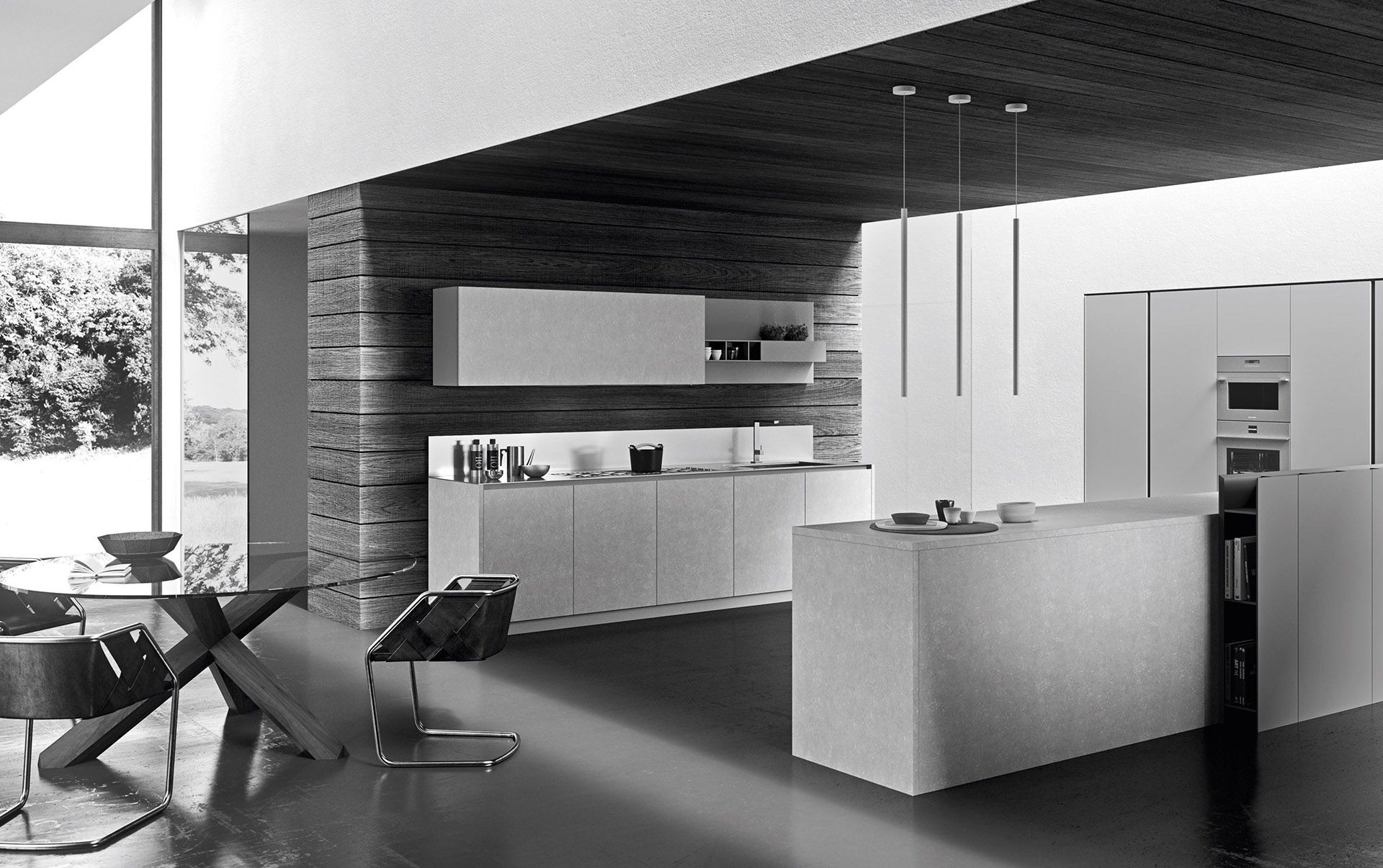 Modern Italian custom made kitchen cabinets available in ...