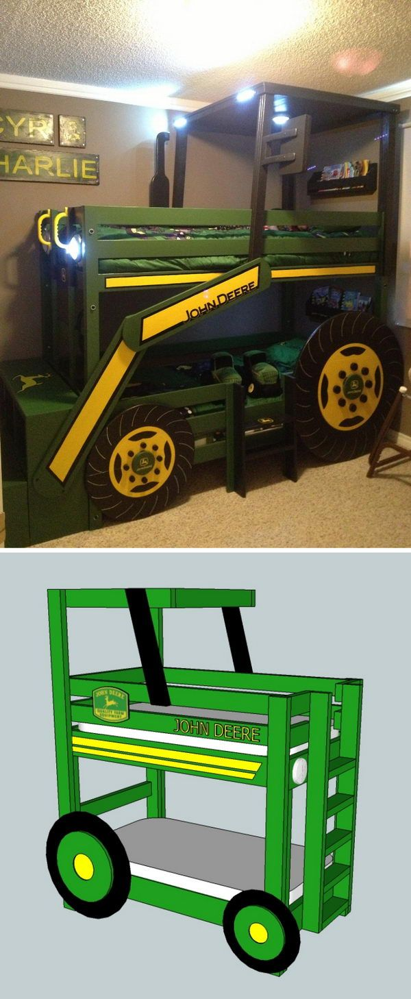 Cool DIY Kids Bunk Bed Ideas and Tutorials Kid beds