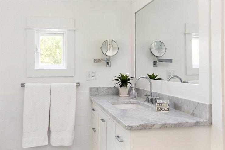 Amy Trowman Design Bathrooms White