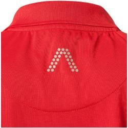 Photo of Alberto Golf Polo Shirt Men, microfiber, red Alberto Golf