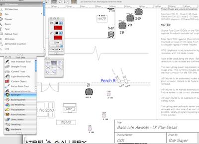 Stage lighting design software | Theatre Lighting designs in
