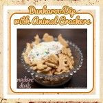 Kid Friendly Recipe : Dunkaroo Dip with Animal Crackers - Madame Deals, Inc.