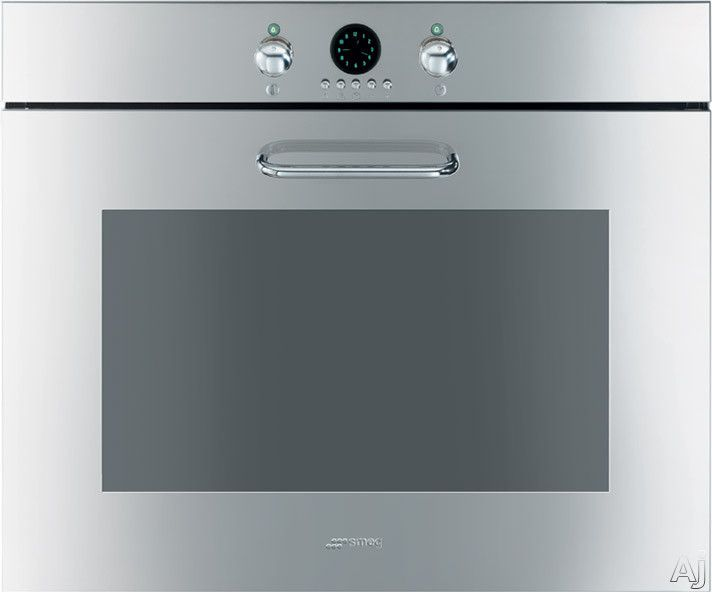 Smeg Sc770u 27 Single Electric Wall Oven With 3 0 Cu Ft