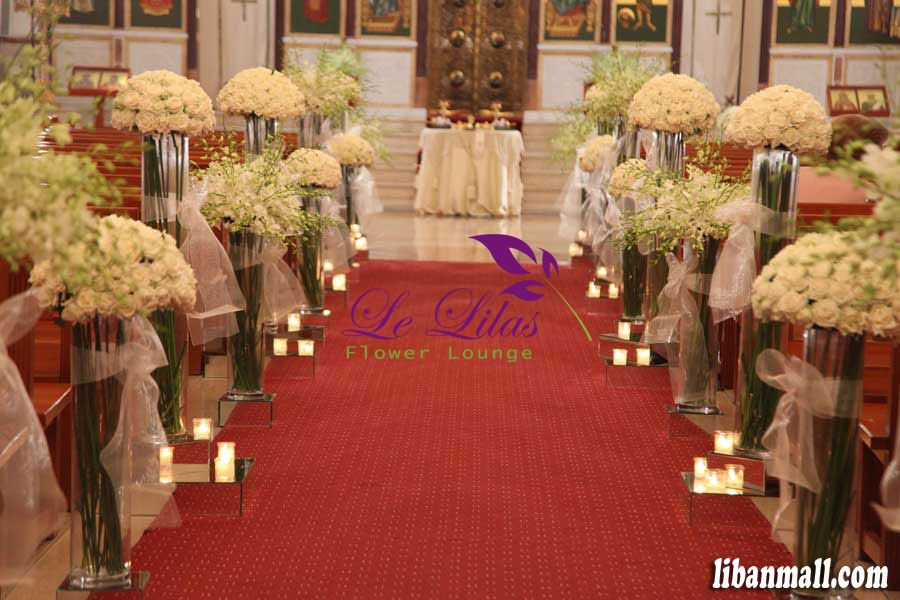Wedding Flowers Lebanon Beirut : Weddings in lebanon florist le lilas flower