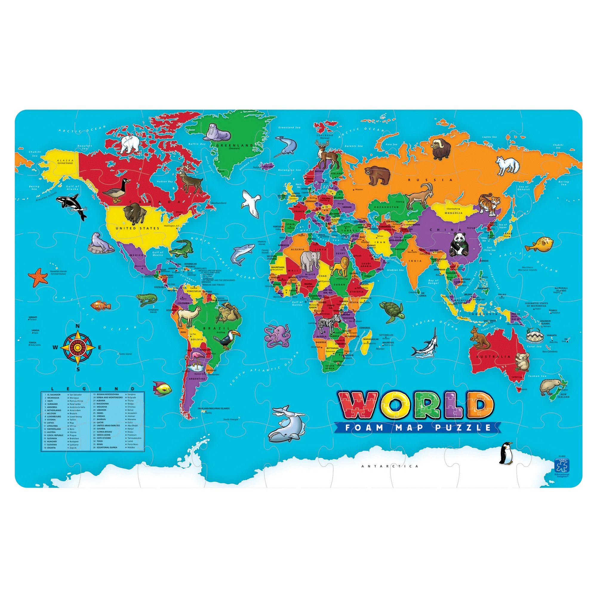 54pc world foam puzzle jigsaw puzzles products 54pc world foam puzzle jigsaw puzzles gumiabroncs Image collections