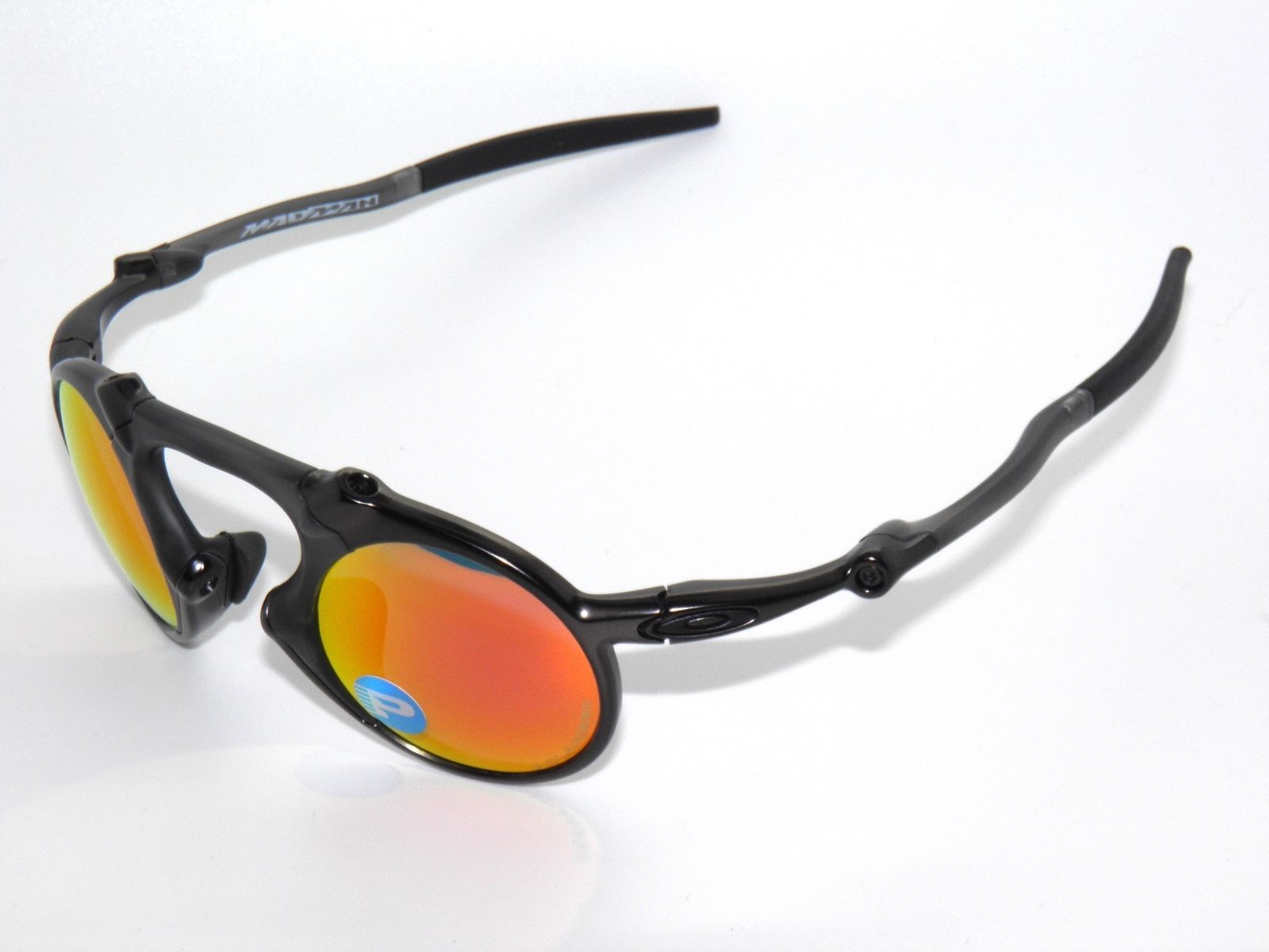 07e4c8c3084 ... switzerland clearance oakley madman 6019 04 dark carbon ruby iridium  polarized sunglasses 59f74 7334a