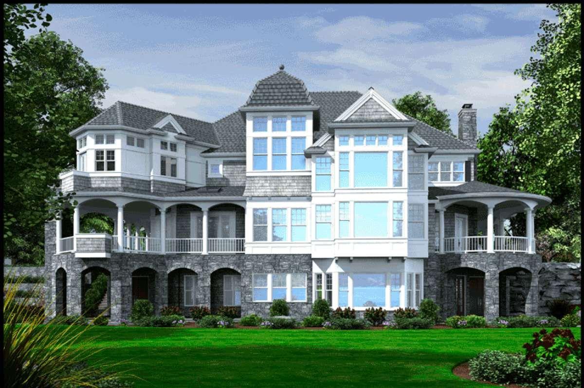 House Plan 34100302 Farmhouse Plan 10,275 Square Feet
