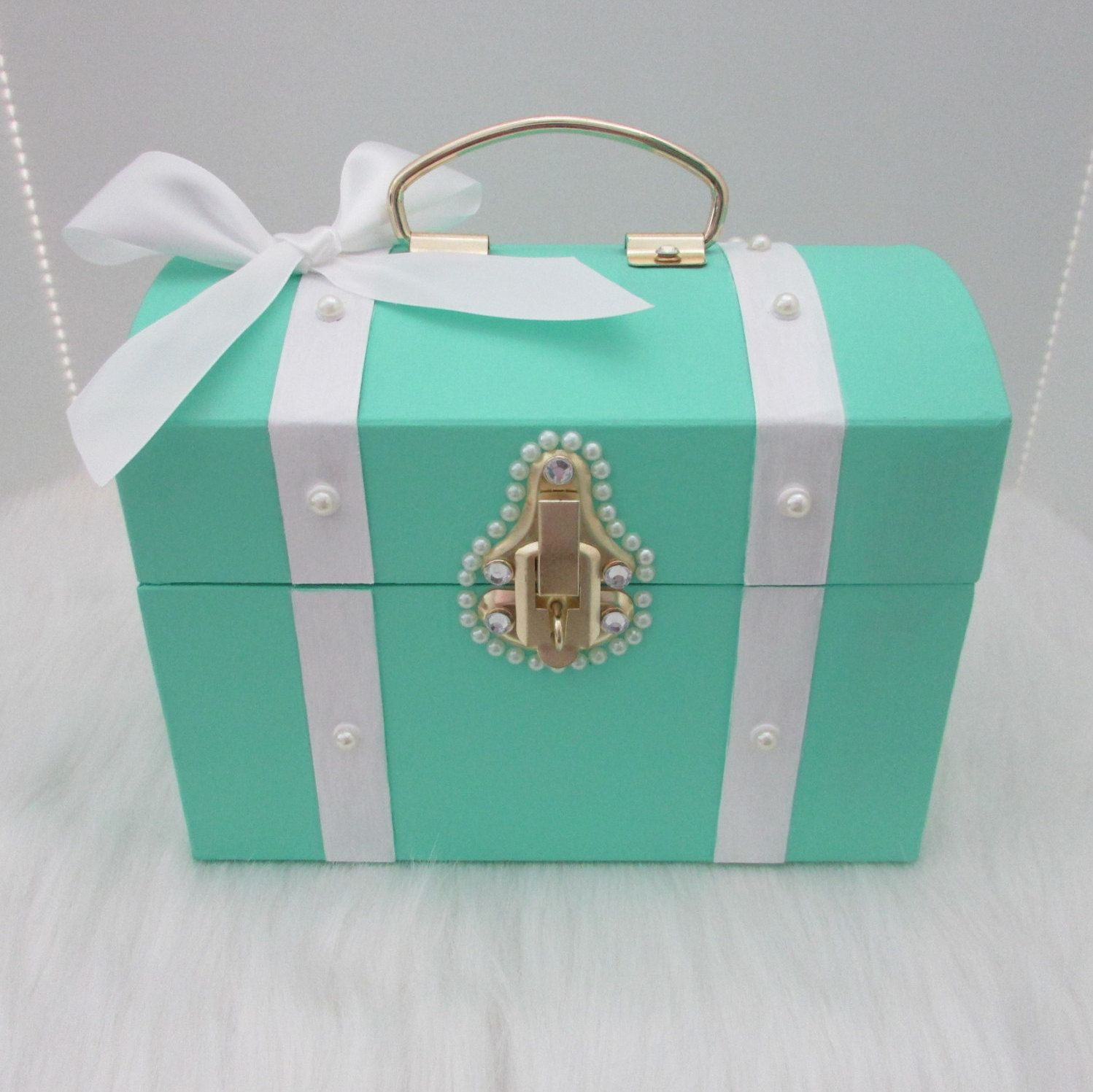 Mint, Tiffany and Co Blue, Blue Box,Treasure Chest,Any Color,Will ...