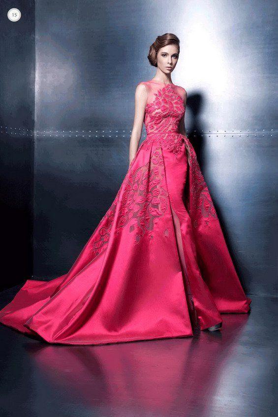 Hermosos vestidos largos de cóctel | Vestidos de fiesta
