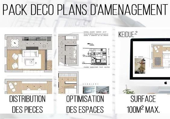 Aménagement Intérieur Global - Maison Appartement - plan d interieur de maison