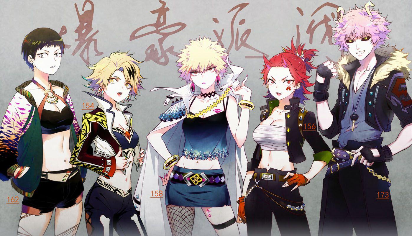 boku+no+hero+academia-studio+bones-bakugou+katsuki-kirishima+eijirou-ashido+mina-sero+hanta