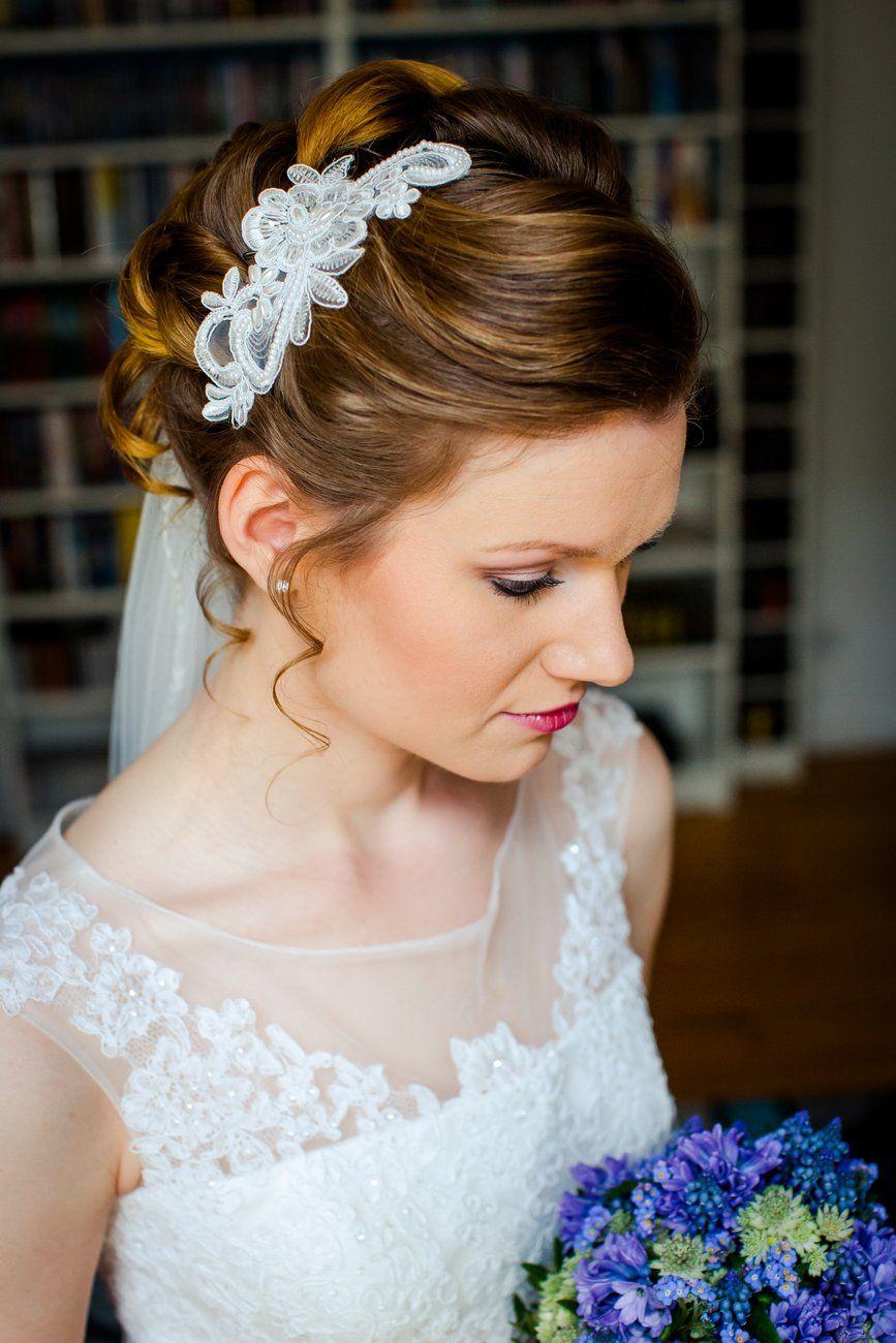 spitze up do hochsteckfrisur bridal style | hochzeit