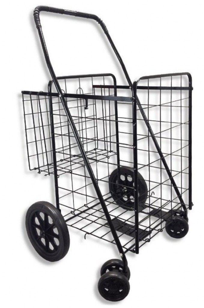 69ba598b9661 Portable Utility Cart With Wheels | Utility Cart | Folding shopping ...