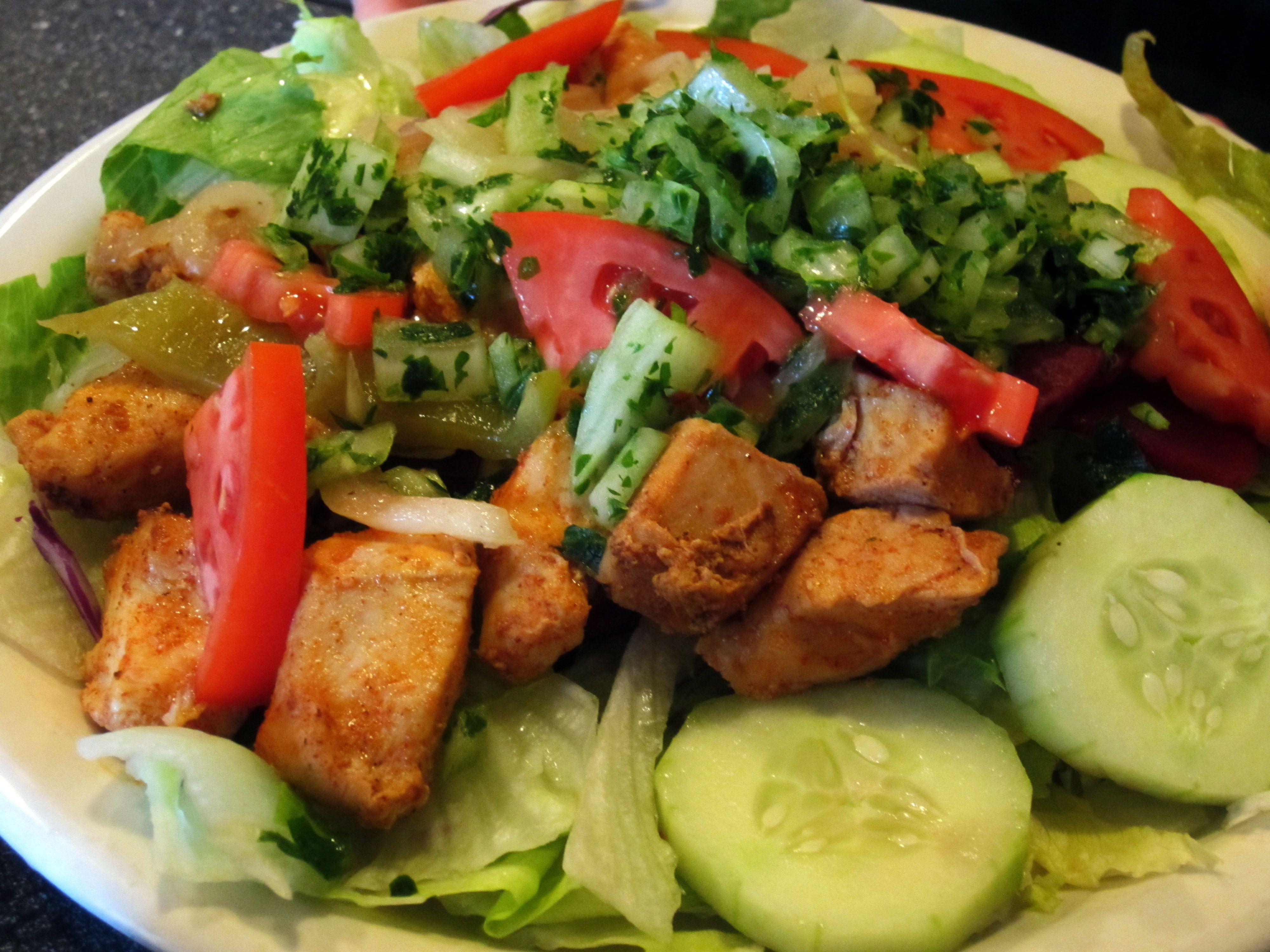 Shish Kebab is located across the street from