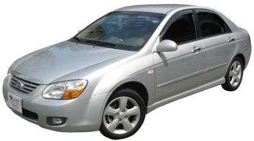 قطع غيار كيا سيراتو 2006 Sedan Kia Car