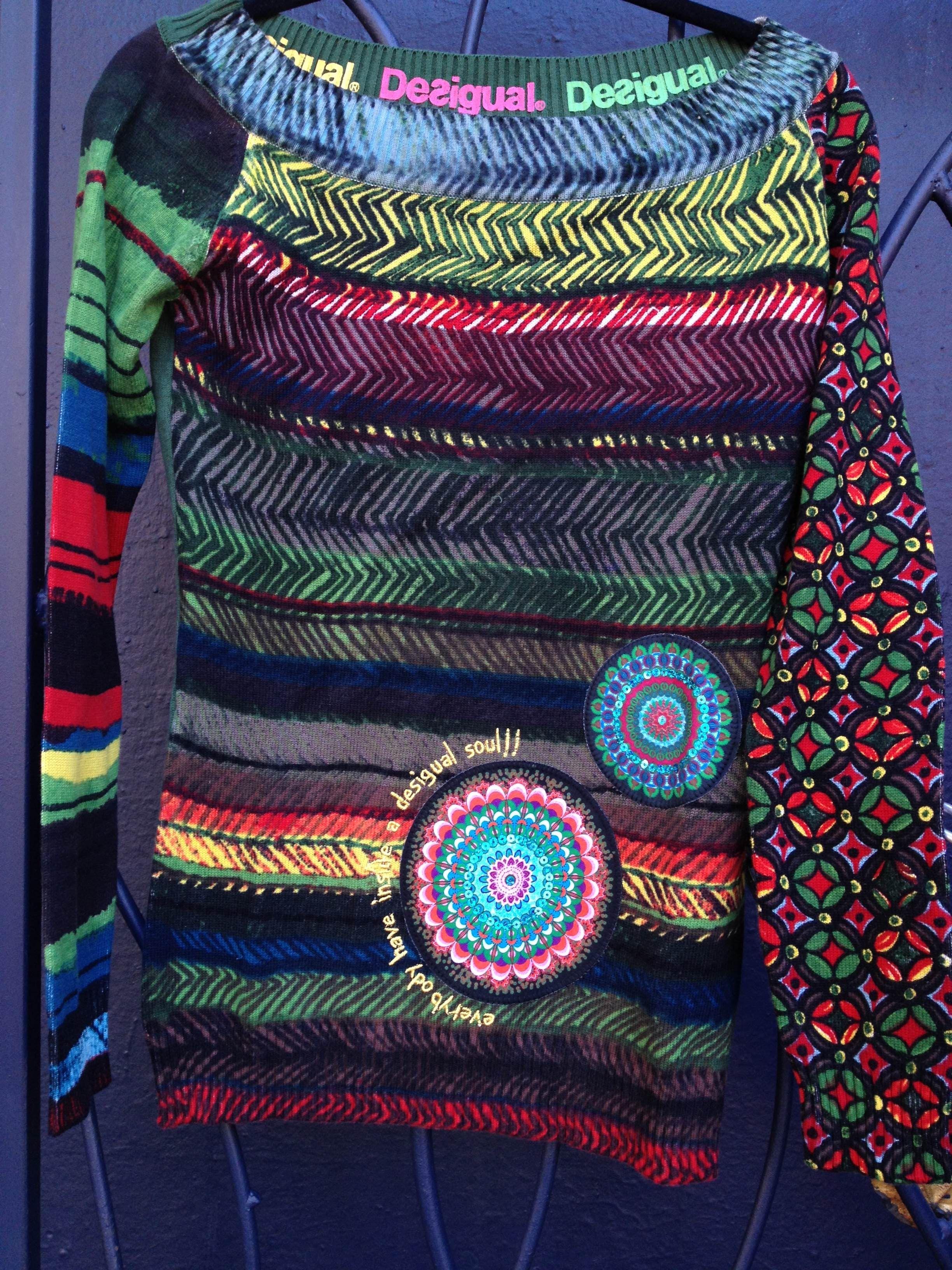 Desigual Morries - Love this sweater Handarbeiten 5f89d7329d9