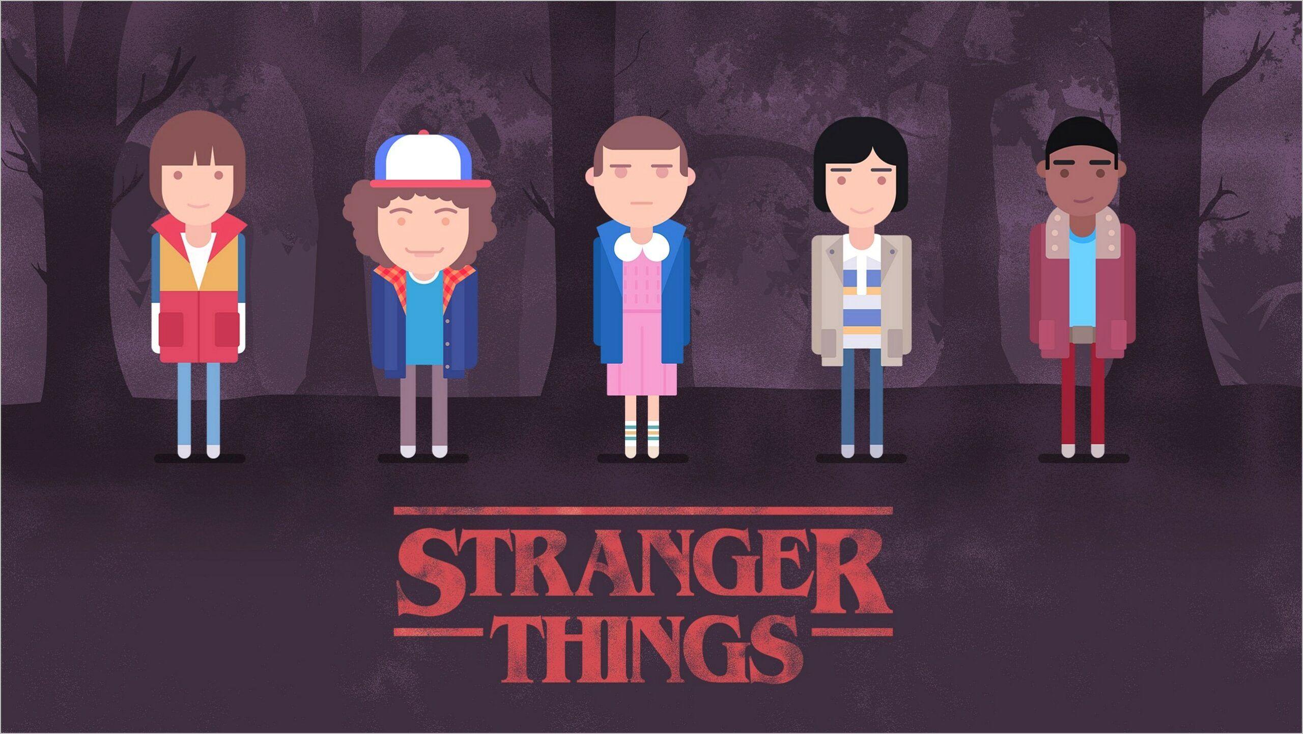 Stranger Things 2 4k Wallpaper Stranger Things Wallpaper Stranger Things Art Stranger Things Characters