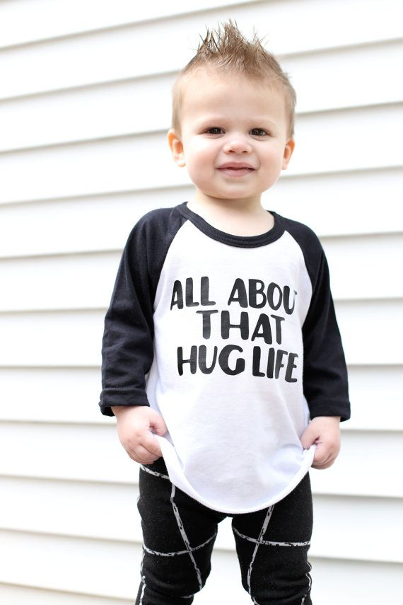 35dfcf1c5 baby boy toddler boy raglan baseball tee hug life by Our5loves ...