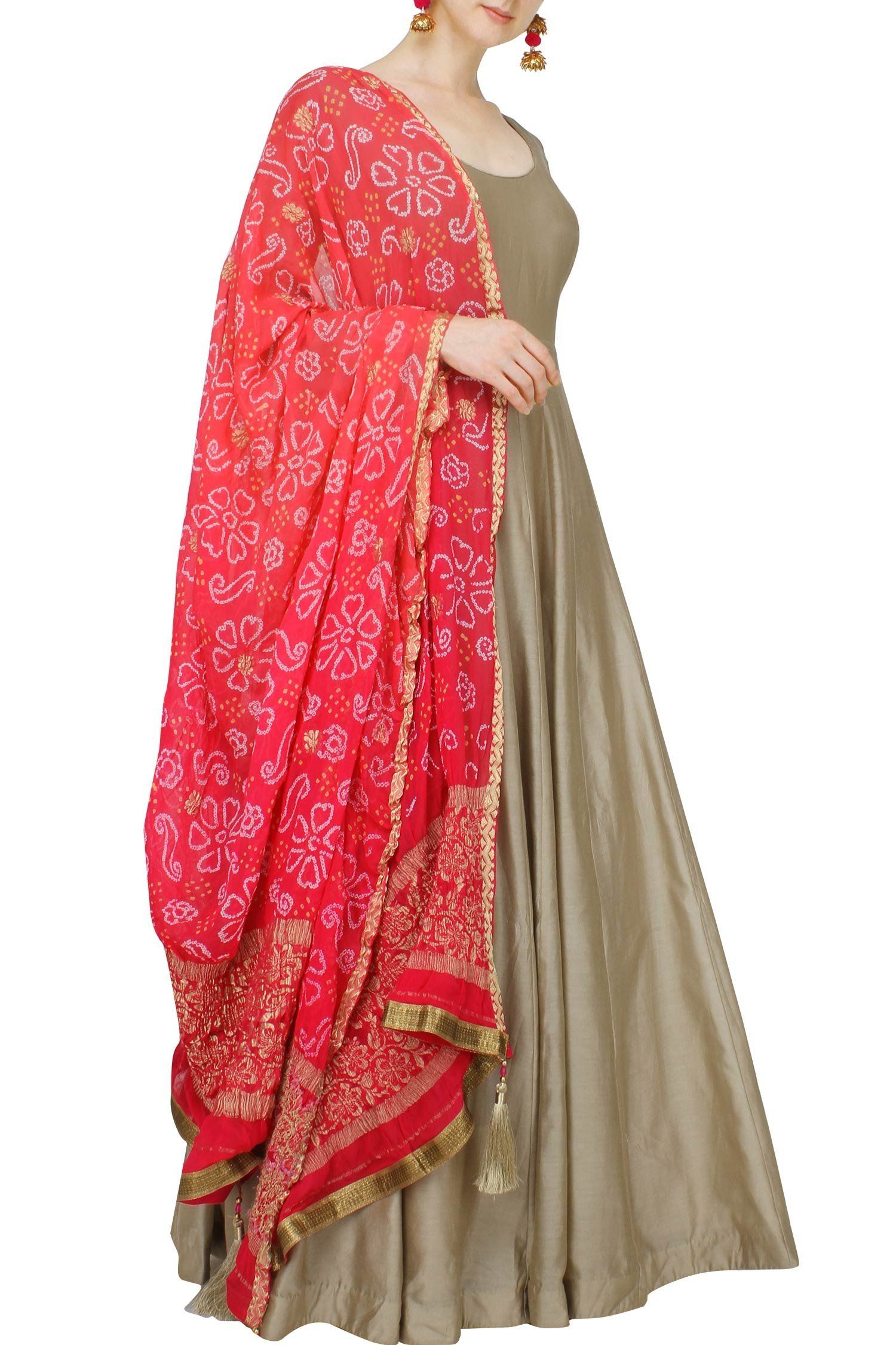 Exclusive Salwar Kameez Unstitch Dress Material Diwali rajasthan bandhani ethnic