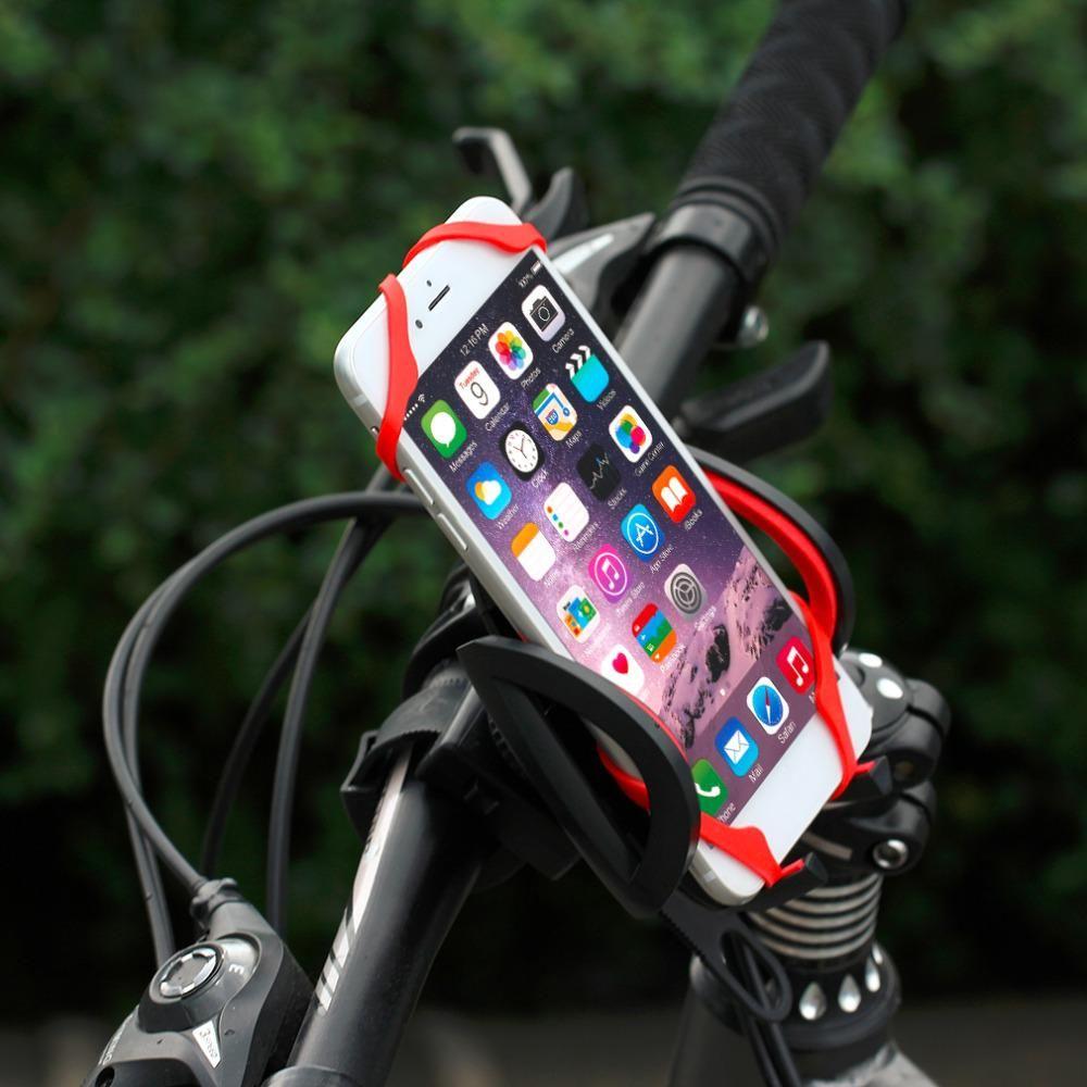 Bike Bicycle Motorcycle Handlebar Phone Mount Holder With