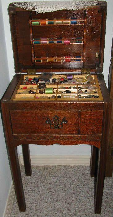 Vintage Sewing Table Cabinet Vintage Sewing Table Vintage