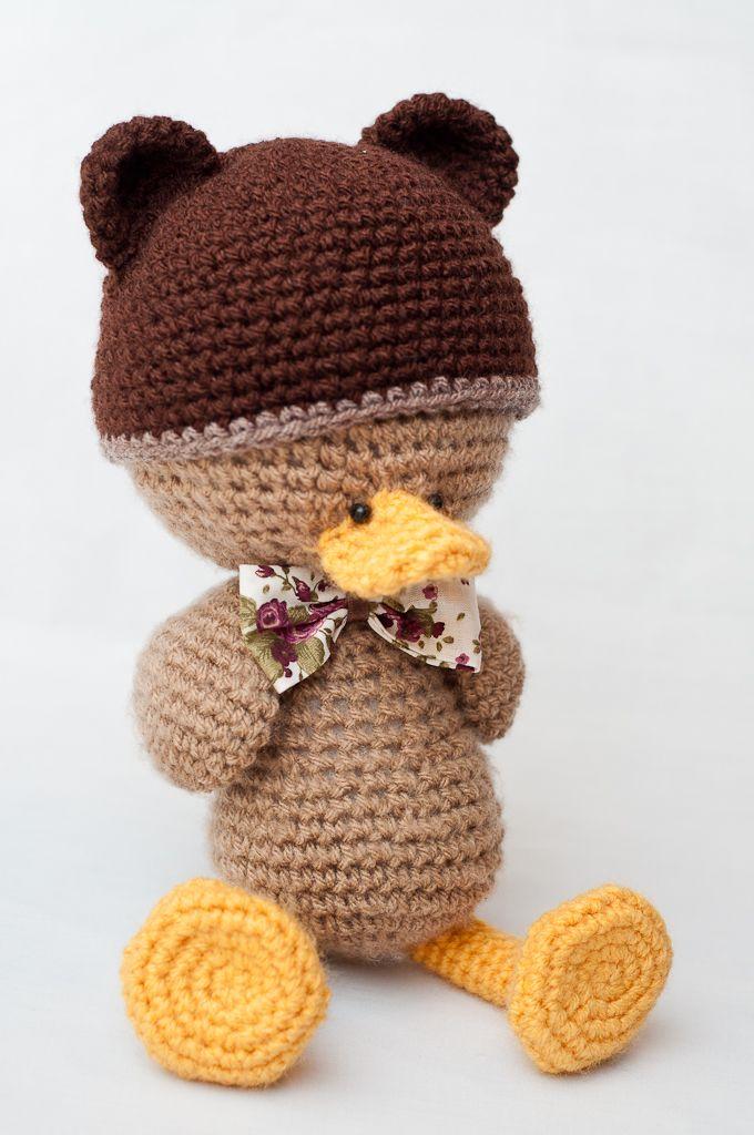 It\'s a bear duck!   Amigurumi   Pinterest   Amigurumi häkeln ...
