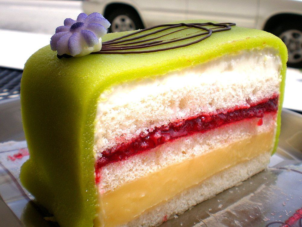 Swedish Princess Cake (from Emil's Swiss Pastry)