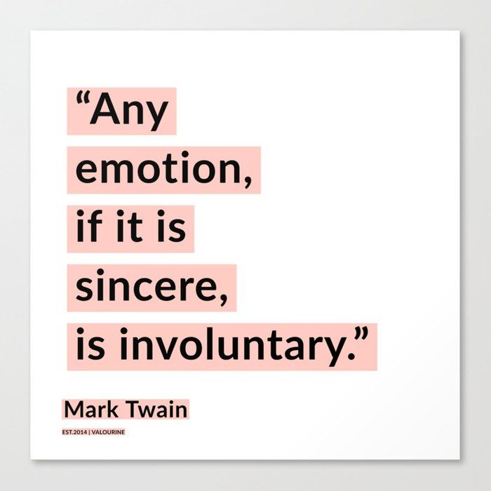 31   | Mark Twain Quotes 200908 Motivational Inspirational Inspiring Motivating Canvas Print by Wordz