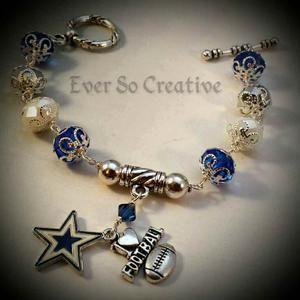 Dallas Cowboy Bracelet