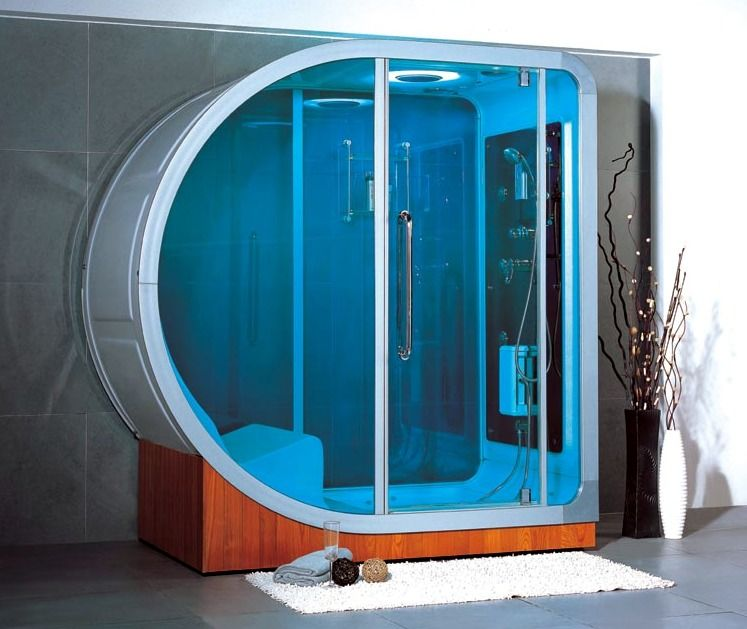 Apollo Steam Shower, Possibly The Most Expensive, Non Precious Metal Shower  Available