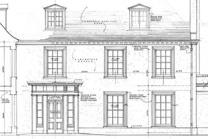 A Georgian Farmhouse Ben Pentreath Ltd Architecture Traditional Architecture House Exterior