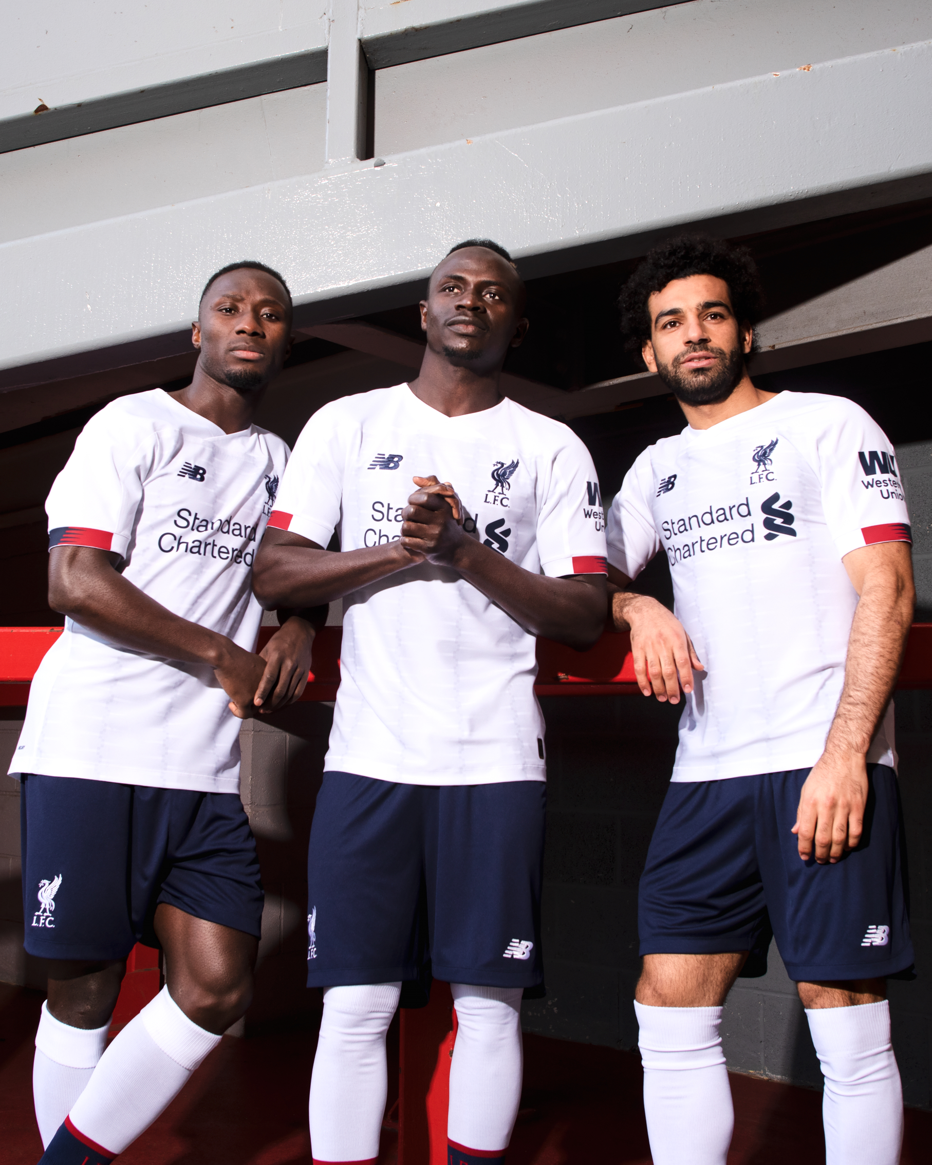 Gallery Liverpool Players Model New Away Kit For 2019 20 In 2020 Liverpool Players Liverpool Soccer Liverpool Football Club