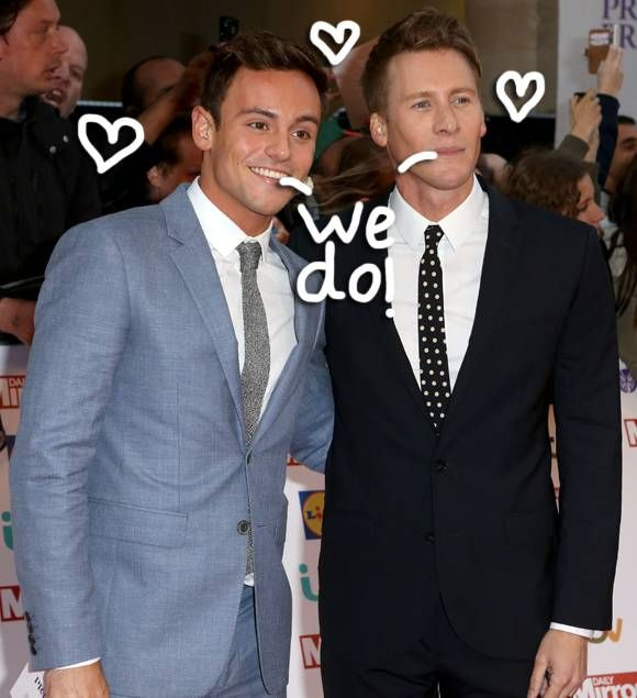 Tom Daley & Boyfriend Dustin Lance Black Attempt To Quietly Share Their  Engagement News — Read