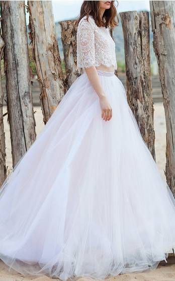 Costarellos Bridal Spring Summer 2016 Look 12 on Moda Operandi