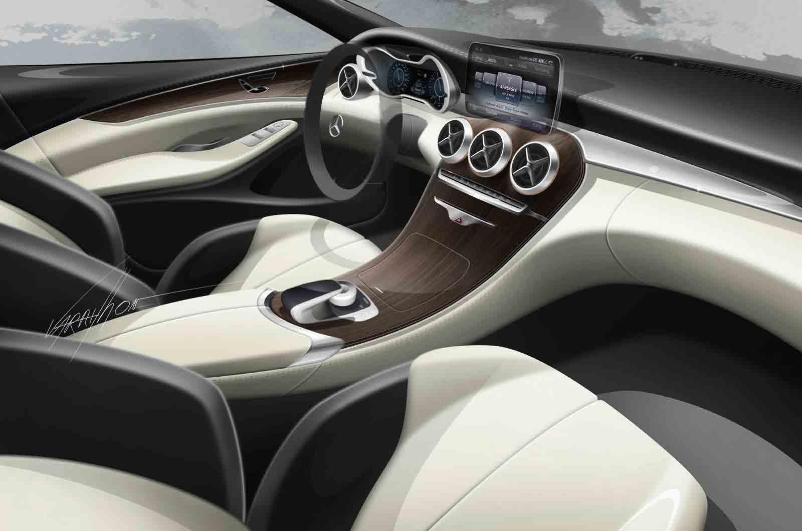 mercedes W205 SKETCH Google 搜尋 Mercedes c class