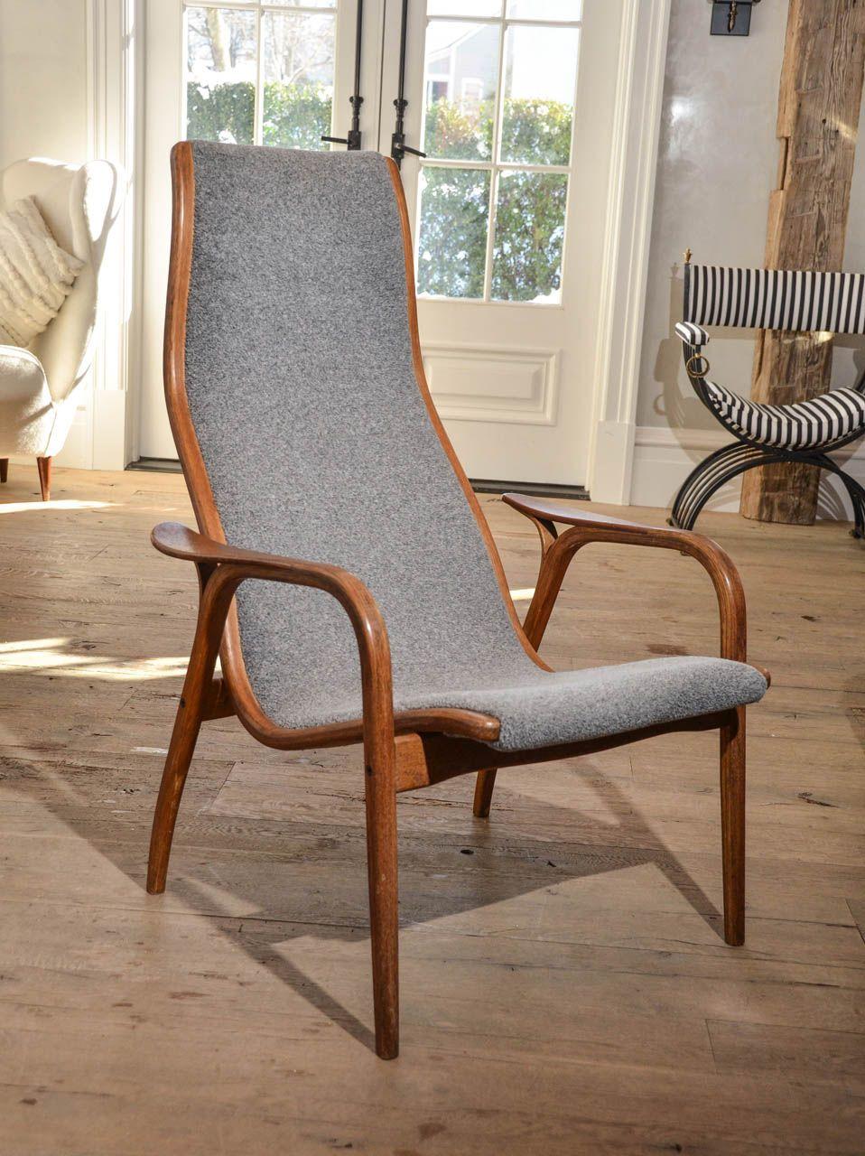 Pair Of Mid Century Swedish Lamino Highback Chairs By Yngwe Eckstroem Chair Scandinavian Furniture Furniture Chair