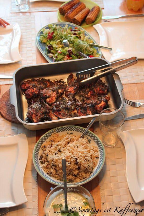 Jamie Oliver 30 Minuten Menü : Jamaika - Hähnchen | Rezepte ...