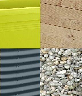 HOCHBEET MATERIAL: Die 4 Hauptmaterialien für Hochbeete mit ihren spezifischen Vor- und Nachteilen im Überblick.