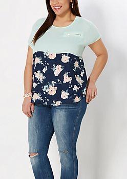 12c4f6ae42 Junior Plus Size Dressy Tops