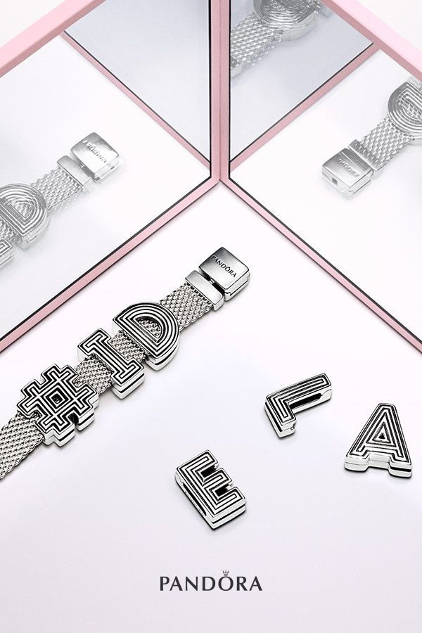 Inspired by modern architecture, the Reflexions Alphabet ...