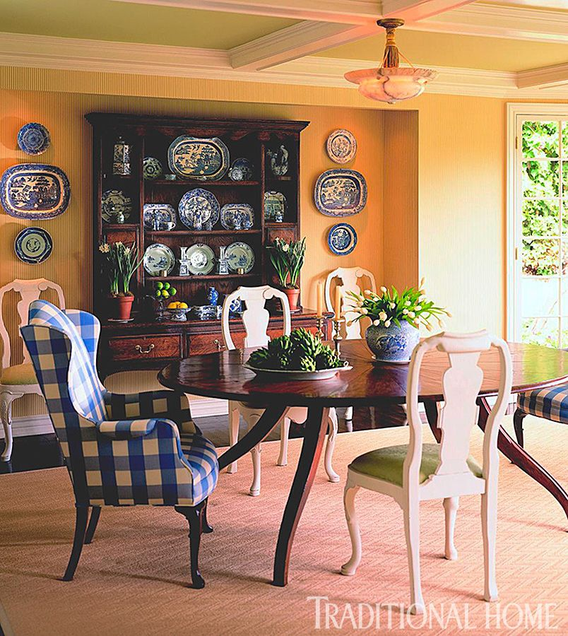 25 Years of Beautiful Dining Rooms Traditional Home Dining Rooms