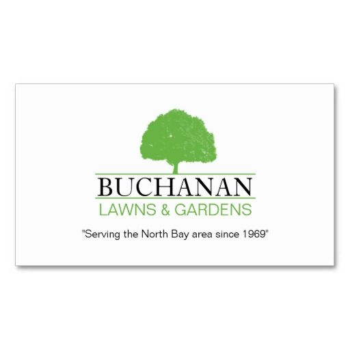 Lawn Care And Gardening Business Card Gardening Business Cards - Lawn care business cards templates free