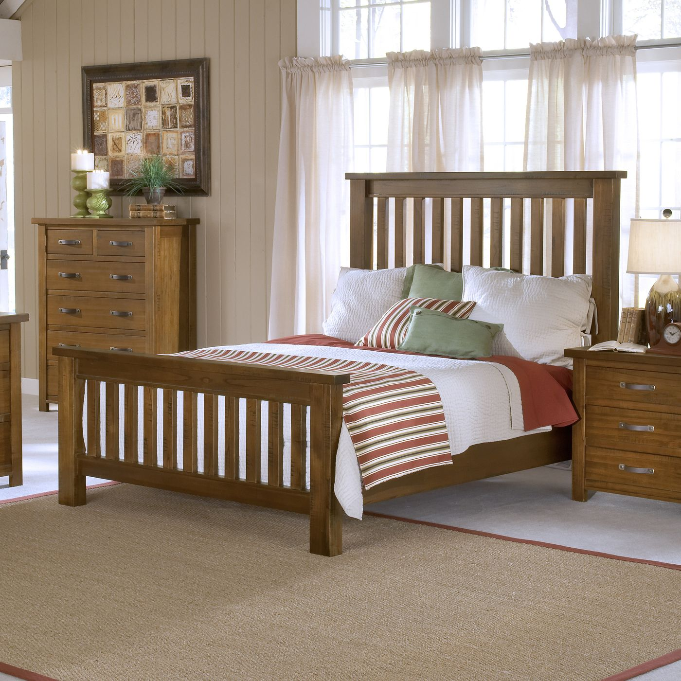 Outback Slat Bed Not too mission... not too rustic