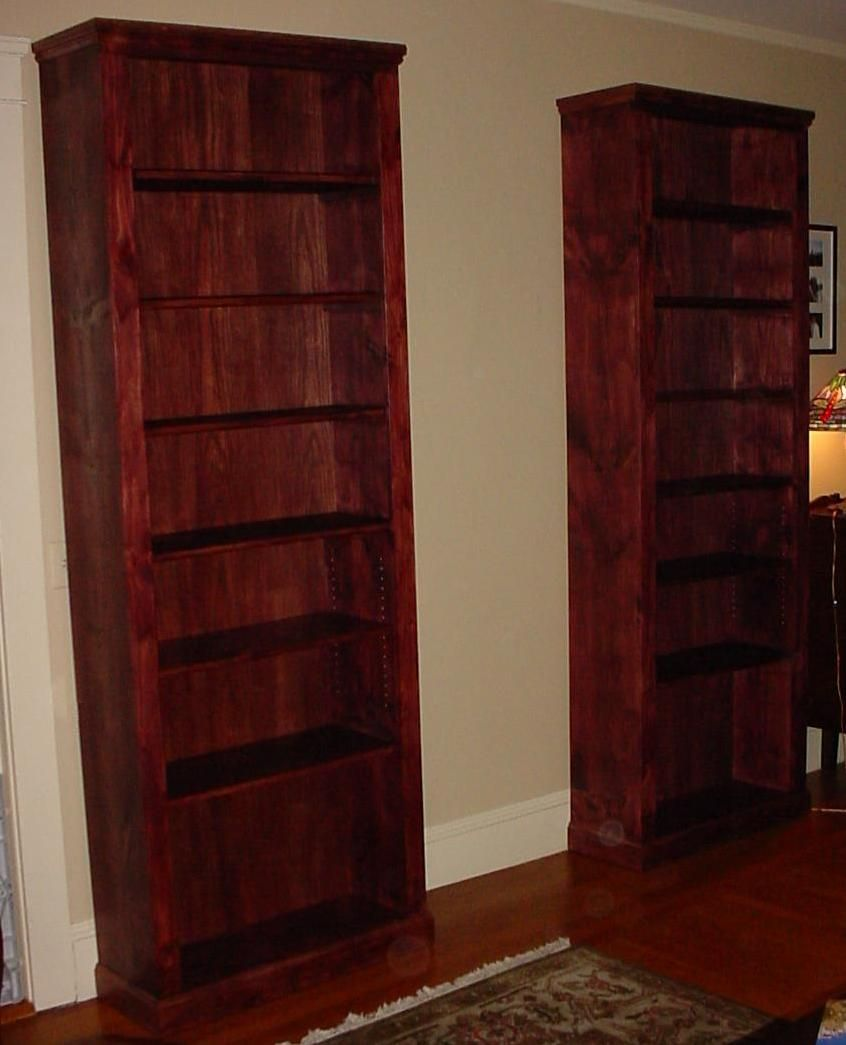 Tall Wood Bookcase Pair Of Custom 8 Foot Tall Wood Bookcase Diy Modern Furniture Bookcase Diy