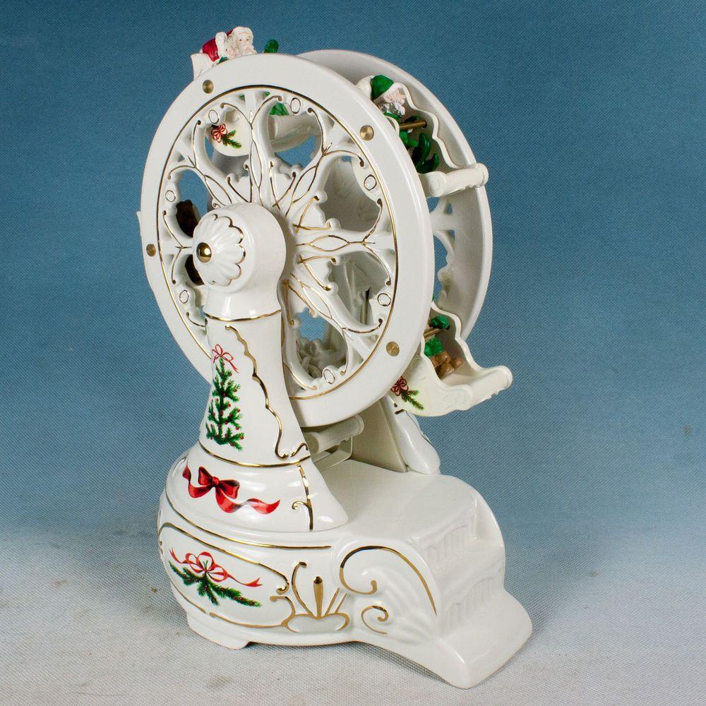 Christmas Ferris Wheel Music Box.Pin On Christmas Decor